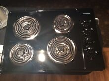 Frigidaire electric cooktop 30  Very good condition