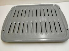 2Pc Set Broiler Pan and Grille Enamel Speckled Gray 17x13