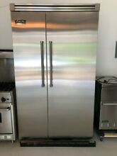 Viking Professional VCSB5482DSS 27 4 cu  ft  Side by Side Refrigerator