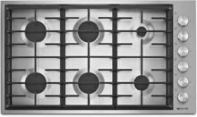 NEW  Jenn Air JGC7636BS 36  Euro Style Gas Cooktop  Stainless Steel