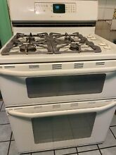 Double oven gas stove