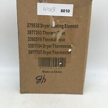 Metal Dryer Heating Element Assembly Replacement Parts Kit 279838