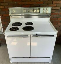 Vintage 1960 s Frigidaire Custom Imperial Electric Range Double Oven  BEAUTIFUL