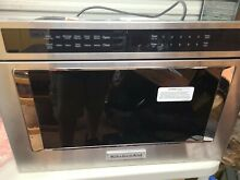 KitchenAid KMBD104GSS 24  Stainless Steel Built In Microwave NOB  112299