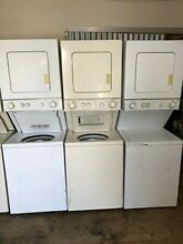 WHIRLPOOL THIN TWIN 220 STACK SET 24 IN WIDE WASHER DRYER COMBO