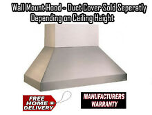 Vent A Hood EPTH18454 SS Stainless Kitchen Ventilation Hood 54 Inches 1200 CFM