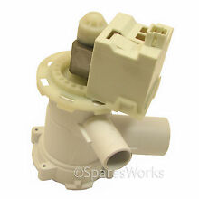 BOSCH Washing Machine Drain Pump Washer Dryer Waste Water Outlet Genuine