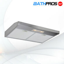 30  Convertible Under Cabinet Stainless Steel 3 Speeds Push Control Range Hood
