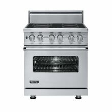 Viking VER5304BSS 30  ProStyle Smoothtop Electric Range  Stainless Steel