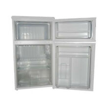 White Mini Fridge Freezer Compact Refrigerator Dorm Den Bar Garage Office Patio