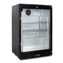 Commercial Under Counter Bar Fridge  1 Self closing Glass Door 55BP