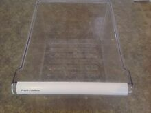 GE Refrigerator Vegetable Crisper Pan Part   WR32X10471
