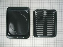 Genuine WB48X10056 Kenmore Wall Oven Broil Pan Set