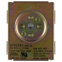 Genuine 9763761 Whirlpool Range Switch Inf
