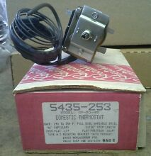 Robertshaw electric oven thermostat 5435 253