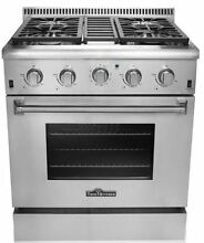 Thor Kitchen 30  Gas Freestanding Range with 5 Burners HRG3080U