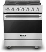 Viking RVER33015BSS 30  Freestanding Electric Range Stainless Steel