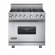 Viking VGCC5366BSS 36  ProStyle Gas Range  Stainless Steel