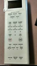 GE MICROWAVE CONTROL BOARD WITH TOUCHPAD WB27X10603  RA 0TR9 01 Bisque