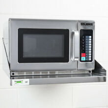 1200 Watt Stackable 120 Volt Commercial Microwave with Push Button Controls