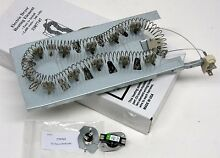 Dryer Heating Element Whirlpool Kenmore Sears Part w Thermostat Fuse Kit 3387747