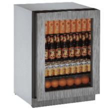 104 Bottle Dual Zone 24  Wine   Beverage Stainless Undercounter Cooler 45  off