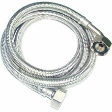 Kinetic WASHING MACHINE   DISHWASHER INLET HOSE Braided Stainless Steel 2m Or 4m
