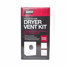 Builders Edge Through the Wall CLOTHES DRYER VENT KIT Moisture   Moulds Protect