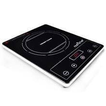 NutriChef PKST16 Electronic Countertop Cooktop Ceramic Induction Glass Burner