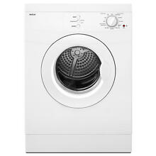 Maytag 3 8 cu  ft  Compact Electric Dryer   White