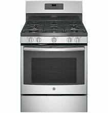 GE JGB660SEJSS 30  Freestanding Gas Stove 220 240 Volts 50 60Hz Export Only