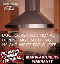 New Vent A Hood PWD14148 SS Kitchen wall Vent Stainless Steel 48 inch 300 CFM