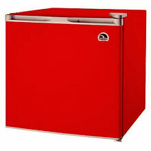 Igloo 1 7 Cu Ft Compact Mini Fridge   Refrigerator  Red   FR115I