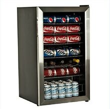EdgeStar BWC120SS 3 6 cu  ft  Beverage Cooler Refrigerator  Mini Fridge