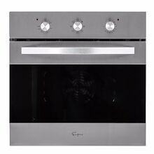 24  Tempered Glass Electric Built in Single Wall Oven 2800W 220V