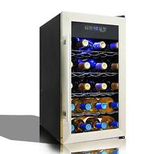 Nutri Chef Electric Wine Cooler   Wine Chilling Refrigerator Cellar  18 Bottle