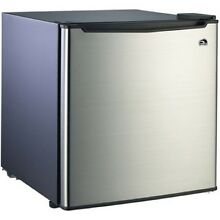 Mini Refrigerator With Freezer For Kids Cabinet Apartment Kitchen Compact Office