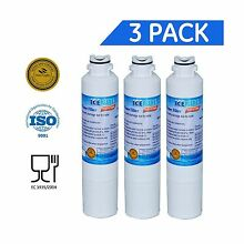 3 Pack IcePure Water Filter to Replace Samsung Kenmore Sears 3 Free Shipping
