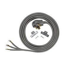 Certified Appliance 90 1028 3 wire Dryer Cord  10ft  1 Pack