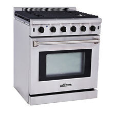 Thor Kitchen Stainless Steel Kitchen Gas Range Stove Oven 30 LRG3001U