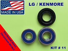 LG FRONT LOAD WASHER 2 TUB BEARINGS   SEAL LG Kenmore   KIT   11   MDS62058301