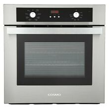 24  2 cu ft Electric True European Convection Single Wall Oven Stainless Steel