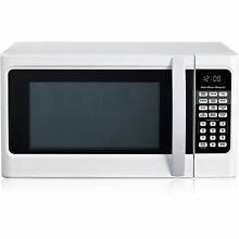 Hamilton Beach 1 1 cu ft Digital White Microwave Oven New Dorm Room  Apartment