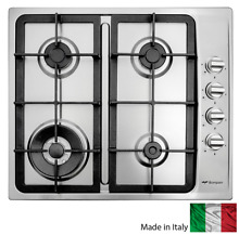 Brand New Bompani 60cm Stainless steel GAS Cooktop Stove 4 Burner Italian made