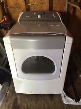 Cabrio Whirlpool Gas Dryer White