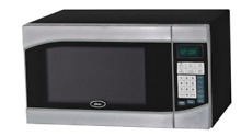 Oster Watt Countertop Microwave in Black Stainless Steel Cooking Stylish Black