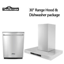 Build In Stainless Steel 24 inch dishwasher Cleaner 30  Wall Mount Thor Kitchen