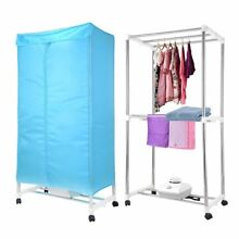 1000W Electric Clothes Dryer Portable Folding Wardrobe Drying Machine Heater