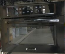 KetchenAid built in microwave oven KBMS1454SBL  0  With 24  color black