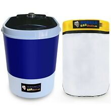 Bubble Machine bubblebagdude 5 Gallon Mini Washing Machine free Zipper Bag 220
